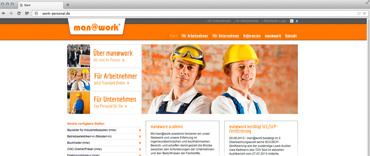 man@work Webdesign