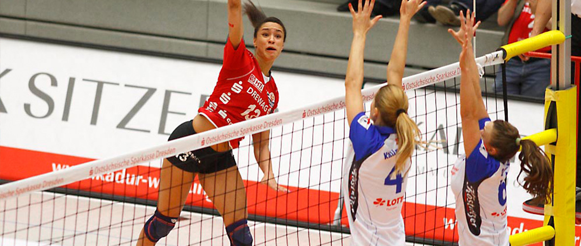 DSC Volleyball Bandenwerbung