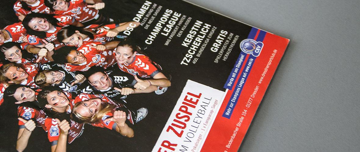 DSC Volleyball Jahresheft Dresdner Zuspiel